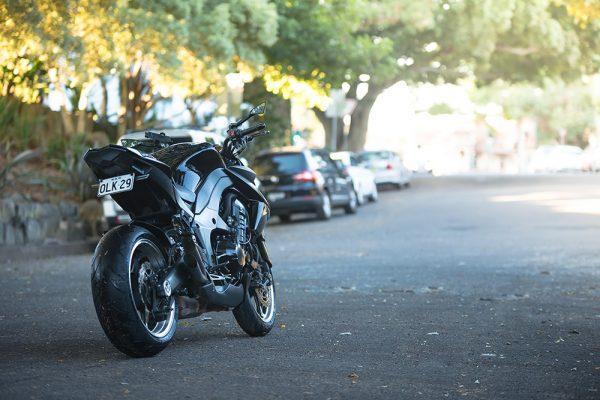 Baptiste C David, Kawasaki Z1000 ABS 2011 Prince Noir Custom