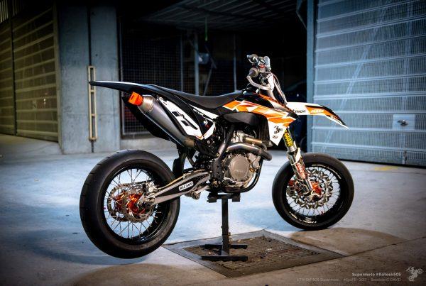 Katosh505 ktm sxf 505 supermoto Sydney french riders Baptiste C David